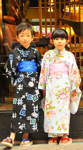 Yukata Plan for Children
