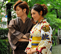 Couples Standard Yukata Plan